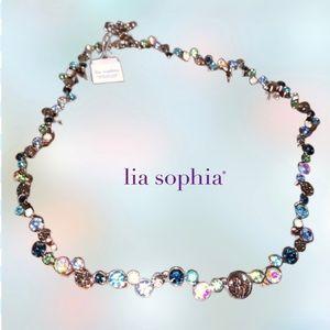Beautiful retired Lia Sophia necklace NWT